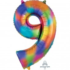 S/SHAPE: 9 Rainbow Splash