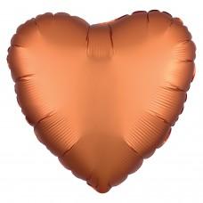 SD-H: Satin Amber Heart