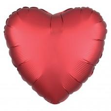 SD-H: Satin Sangria Heart