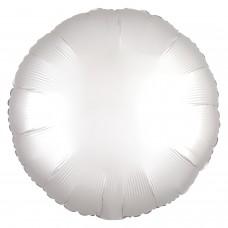 SD-C: Satin White Satin Circle