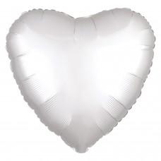 SD-H: Satin White Satin Heart