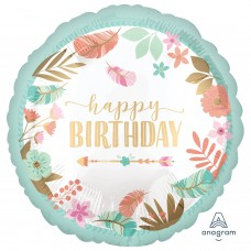 SD-C:Boho Birthday Girl