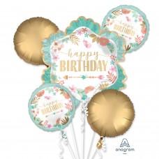 Bouquet:Boho Birthday Girl