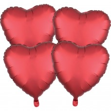 SD-H:SL™ 4 Pk Sangria Hearts
