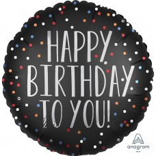 SD-C:Happy Birthday to You Satin Dots
