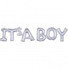 Phrase:Block It's A Boy Holo