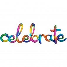 Phrase:Script Celebrate Rainbo