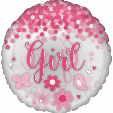 Jumbo:Confetti Ballon BabyGirl