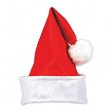 Felt santa hat Adult Std
