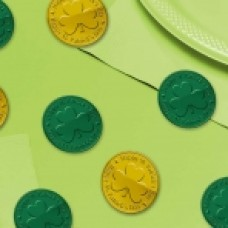 COINS 100CT GREEN/GOLD