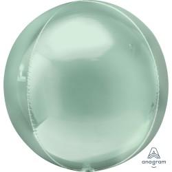 Mint Green Orbz Unpackaged Foil Balloon
