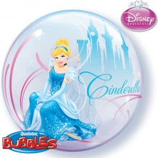22 INCH SINGLE BUBBLE CINDERELLA