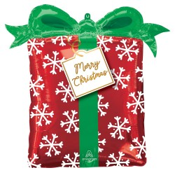 Christmas Present S/Shape Foil Balloon
