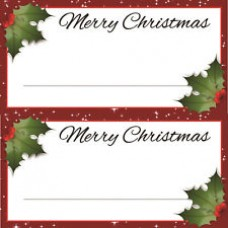 Christmas Tree Placecards
