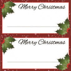 Holly Placecards