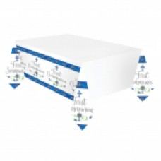 New Communion Pattern - Blue PLASTIC TC