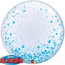 Confeeti Dots Blue Bubble