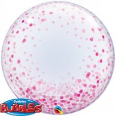 Confeeti Dots Pink Bubble
