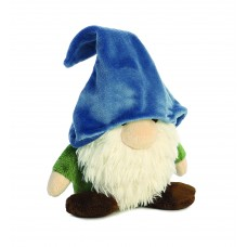 Gnome W/Blue Hat&Green Shirt 11In