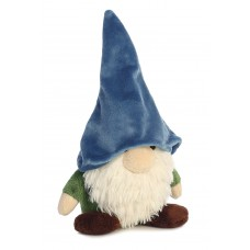 Gnome W/Blue Hat&Green Shirt 16In