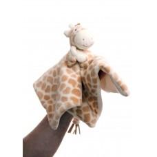 Gigi Giraffe Finger Puppet Blankie