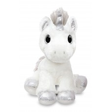Sparkle Tales Twilight Unicorn 12In  Silver