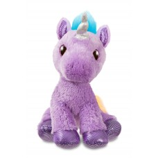 Sparkle Tales Electra Purple Unicorn 12In