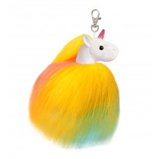 Sparkle Tales Twirly Unicorn Keyclip Multi