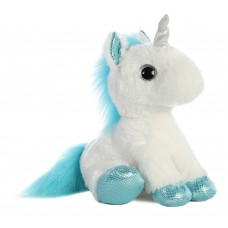 Sparkle Tales Frosty Unicorn 12In White & Blue