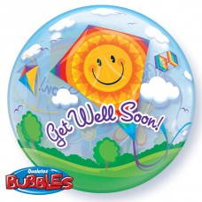 22 INCH SINGLE BUBBLE GET WELL