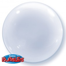 24 inch DECO BUBBLE CLEAR