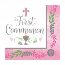 New Communion Pattern - Pink LN
