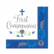 New Communion Pattern - Blue LN