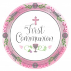 New Communion Pattern - Pink 10 1/2
