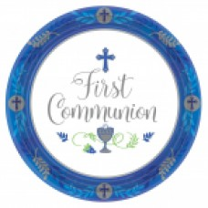 New Communion Pattern - Blue 10 1/2