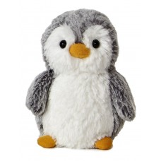 Pompom Penguin W/Hat 11In