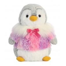 Pompom Penguin Panache Pink 9In
