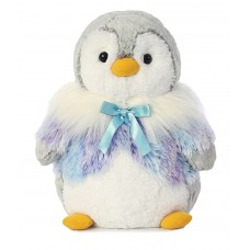Pompom Penguin Panache Purple 9In