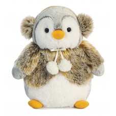 Pompom Penguin Panache Brown 9In