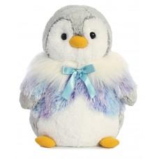 Pompom Penguin Panache Purple 11.5In
