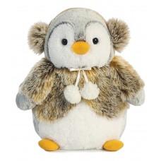 Pompom Penguin Panache Brown 11.5In