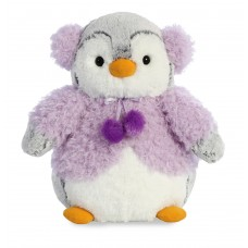 PomPom Penguin Purple Jacket 9In