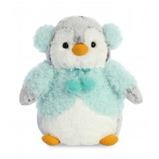 PomPom Penguin Aqua Jacket 9In