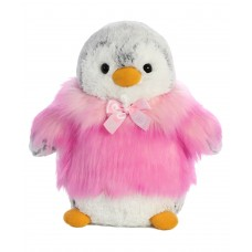 PomPom Penguin HP Pink 9In