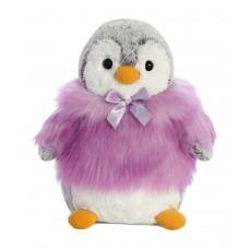 PomPom Penguin HP Purple 9In