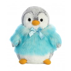 PomPom Penguin HP Teal 9In