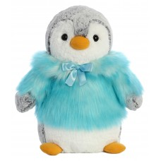 PomPom Penguin HP Teal 11In