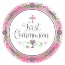 New Communion Pattern - Pink 7