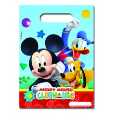 Mickey Mouse Party Bags. Each pack contains 6 bags.
