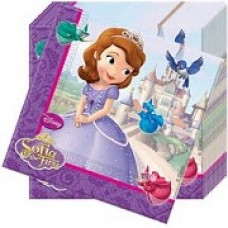 Sofia the First 2 Ply Paper Napkins